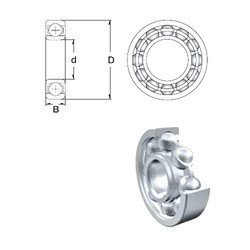 65 mm x 120 mm x 23 mm  ZEN S6213 deep groove ball bearings