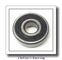 15 mm x 42 mm x 13 mm  NTN 6302N deep groove ball bearings