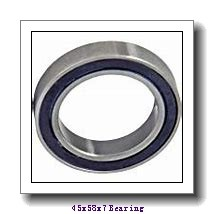 45 mm x 58 mm x 7 mm  NACHI 6809-2NSE deep groove ball bearings