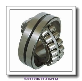 530 mm x 780 mm x 185 mm  ISO NU30/530 cylindrical roller bearings