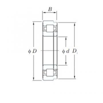 170 mm x 310 mm x 52 mm  KOYO NUP234 cylindrical roller bearings