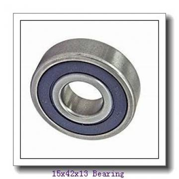 15 mm x 42 mm x 13 mm  Loyal 6302 ZZ deep groove ball bearings