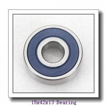 15 mm x 42 mm x 13 mm  NSK 6302ZZ deep groove ball bearings