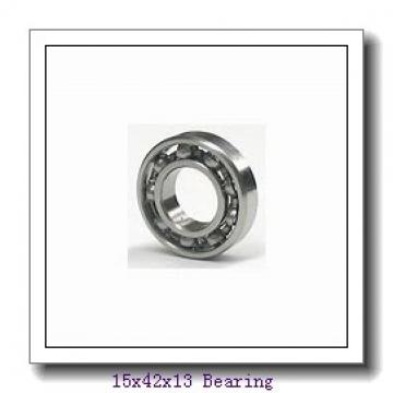 15 mm x 42 mm x 13 mm  KOYO 6302-2RS deep groove ball bearings