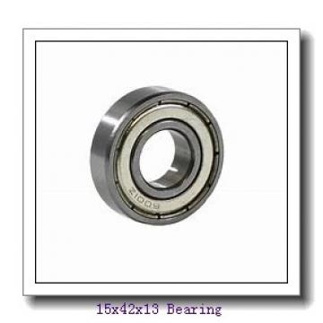 15 mm x 42 mm x 13 mm  ZEN 6302 deep groove ball bearings