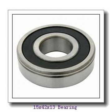 15 mm x 42 mm x 13 mm  NACHI 6302ZZE deep groove ball bearings