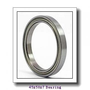 45 mm x 58 mm x 7 mm  NACHI 6809ZENR deep groove ball bearings