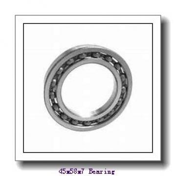 45 mm x 58 mm x 7 mm  ZEN S61809-2RS deep groove ball bearings