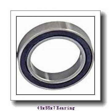 45 mm x 58 mm x 7 mm  ISB SS 61809 deep groove ball bearings