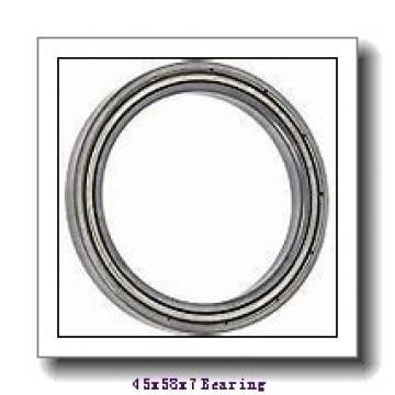 45 mm x 58 mm x 7 mm  NACHI 6809-2NKE deep groove ball bearings