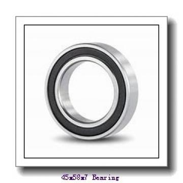 45 mm x 58 mm x 7 mm  ISB 61809-2RZ deep groove ball bearings