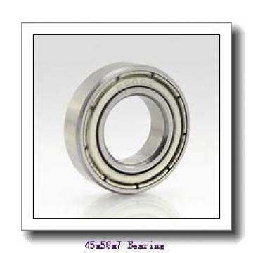 45 mm x 58 mm x 7 mm  NTN 6809NR deep groove ball bearings