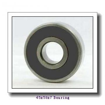 45 mm x 58 mm x 7 mm  FBJ 6809-2RS deep groove ball bearings