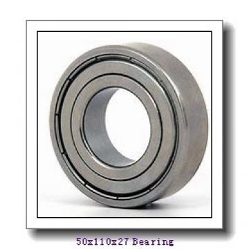 50 mm x 110 mm x 27 mm  NACHI 7310BDF angular contact ball bearings