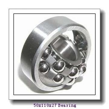 50 mm x 110 mm x 27 mm  NACHI 6310-2NKE9 deep groove ball bearings