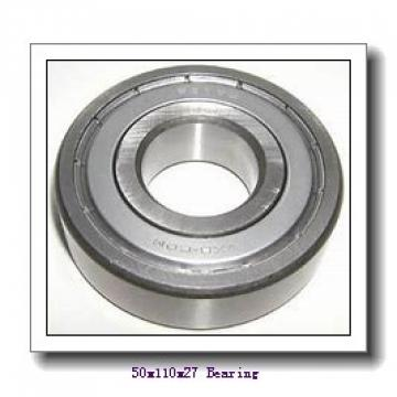 50 mm x 110 mm x 27 mm  NSK 6310N deep groove ball bearings