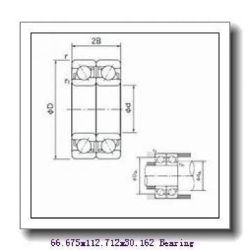 66,675 mm x 112,712 mm x 30,048 mm  NSK 3984/3920 tapered roller bearings