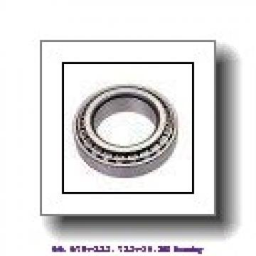 66,675 mm x 112,712 mm x 30,162 mm  ISO 39590/39520 tapered roller bearings