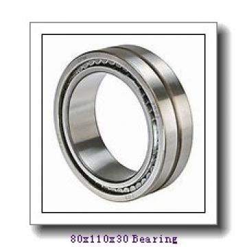 SKF cylindrical roller bearings 80x110x30 Bearing