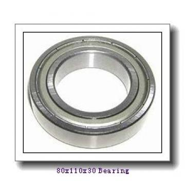 ISO needle roller bearings 80x110x30 Bearing