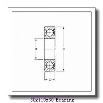 JNS needle roller bearings 80x110x30 Bearing