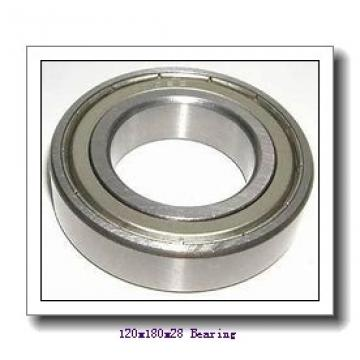 120 mm x 180 mm x 28 mm  NTN 7024 angular contact ball bearings