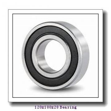 120 mm x 180 mm x 28 mm  NSK 120BER10X angular contact ball bearings