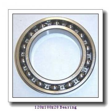120 mm x 180 mm x 28 mm  NTN 6024LLU deep groove ball bearings