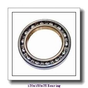 120 mm x 180 mm x 28 mm  NACHI 7024C angular contact ball bearings