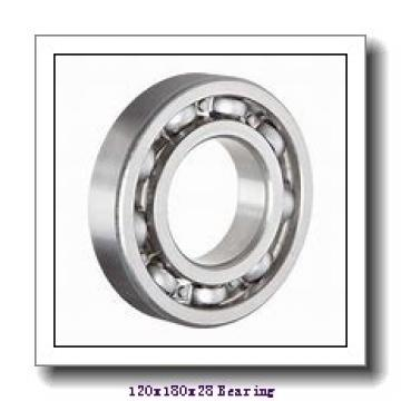 120 mm x 180 mm x 28 mm  NTN 7024UCG/GNP42 angular contact ball bearings