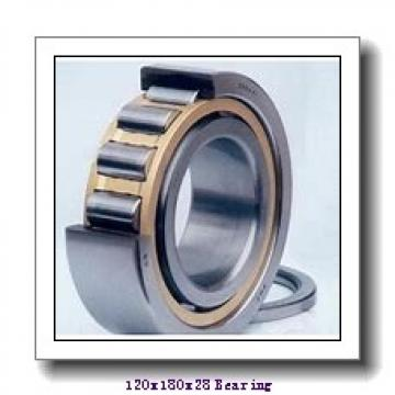 120 mm x 180 mm x 28 mm  NSK 6024 deep groove ball bearings
