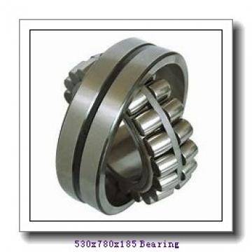 530 mm x 780 mm x 185 mm  Loyal 230/530 KCW33+H30/530 spherical roller bearings