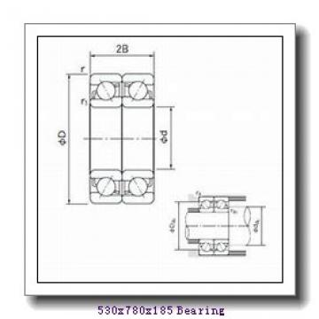 530 mm x 780 mm x 185 mm  Loyal NUP30/530 E cylindrical roller bearings