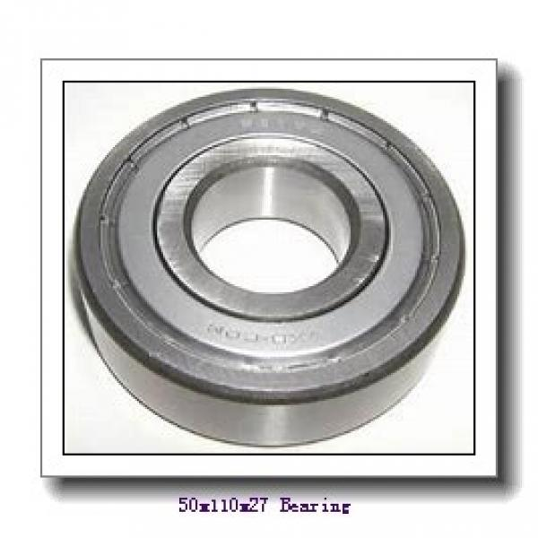 50 mm x 110 mm x 27 mm  FAG NUP310-E-TVP2 cylindrical roller bearings #1 image